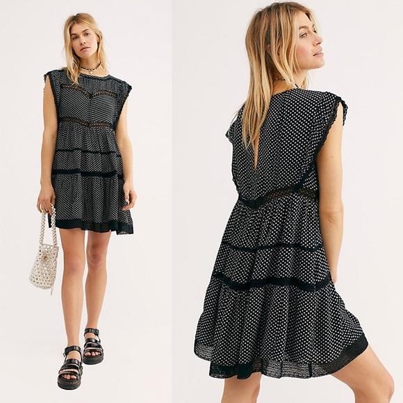 52a45311953b Free People Dresses | Retro Kitty Dress | Poshmark